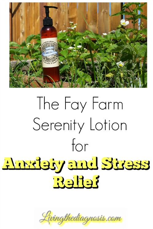 The Fay Farm Serenity Lotion for Anxiety and Stress Relief